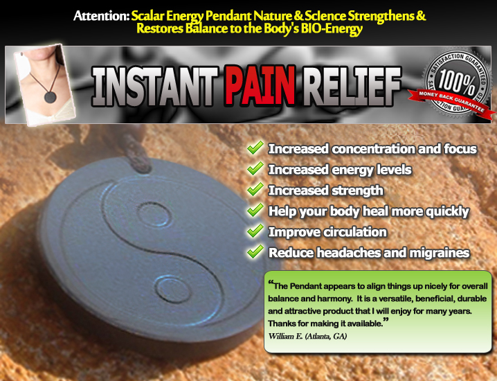 Pain relief millennium products scalar energy pendant benefits mozeypictures Choice Image