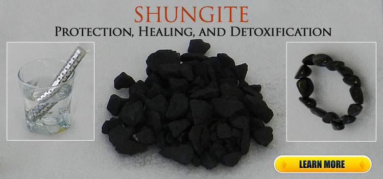 Shungite Water Stick and Bracelet